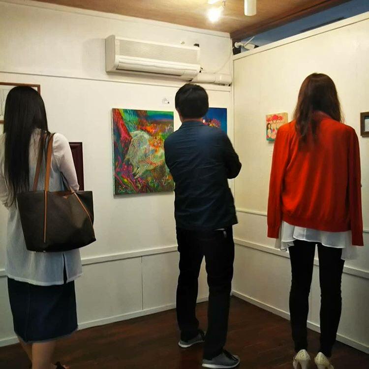 レンタルギャラリー,グループ展